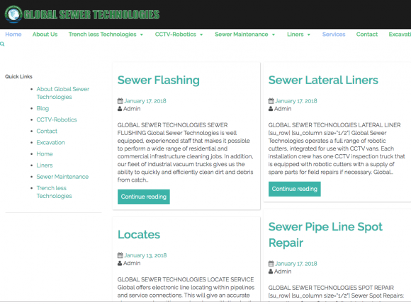 Global Sewer Technologies